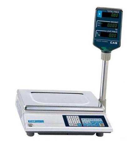 Весы торговые CAS-AP-M (15 кг), фото 2