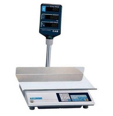 Весы торговые CAS-AP-M LT (30 кг), фото 2