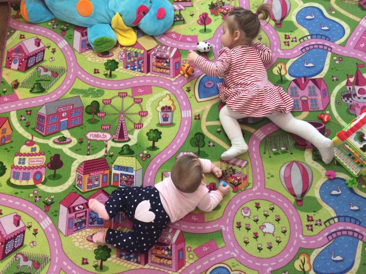 Детские ковры с дорогами Напол №24