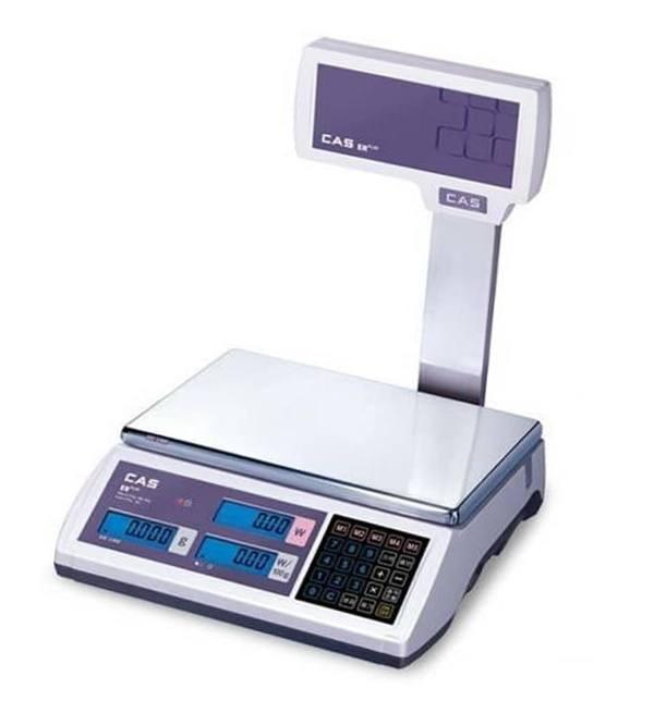 Весы торговые CAS-ER-Plus EU RS232 (6 кг)