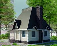 Каркасный дом-американский проект Геркулес 120кв.м.