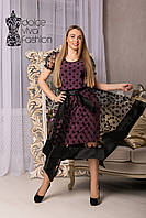 Коктейльное Платье размеры 46-54