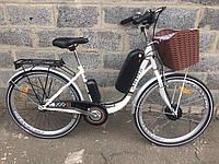 Электро велосипед Lady 350W Акб 36V на 12ah, e-bike