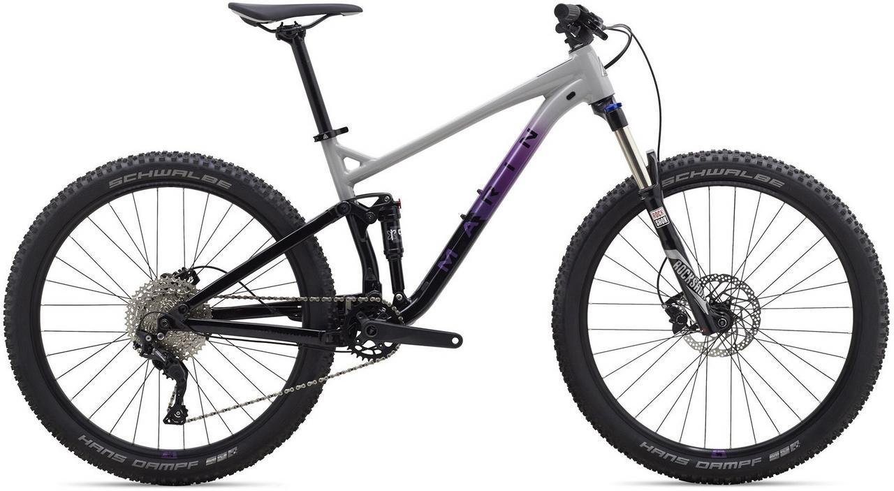 "Велосипед 27,5"" Marin HAWK HILL 1 рама - X 2020 Blue"