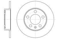Тормозной диск задний SKODA FABIA(1999-2008г),OCTAVIA (1U2),VW GOLF IV,пр-во ABE C4W000ABE, фото 1