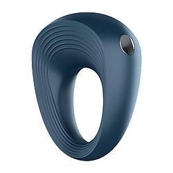 Эрекционное виброкольцо Satisfyer Power Ring, классическая форма, перезаряжаемое, мощное