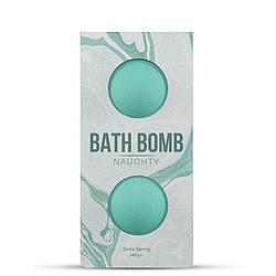 Набір бомбочек для ванни Dona Bath Bomb Naughty Sinful Spring (140 гр) з афродизіаками і феромонами