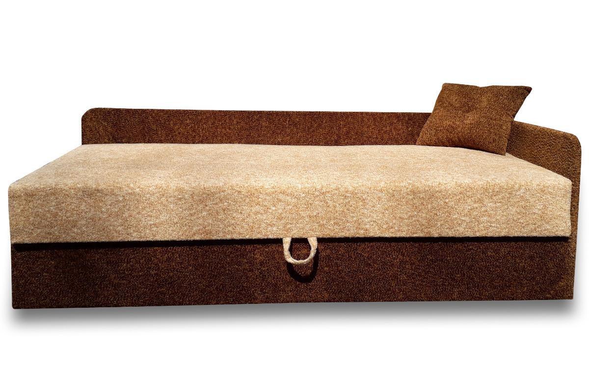 Диван Тахта Кровать  Альфа (Томас персик коричневый)