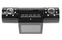"""Видеорегистратор на 2 камеры 2.0"""" TFT LCD 16 IR LED light"""