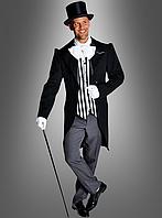 Черно-белый карнавальный мужской костюм