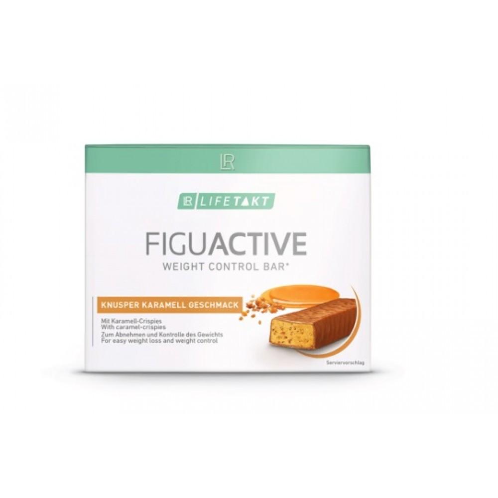 LR Lifetakt Figu Active Батончик для контроля веса со вкусом хрустящей карамели