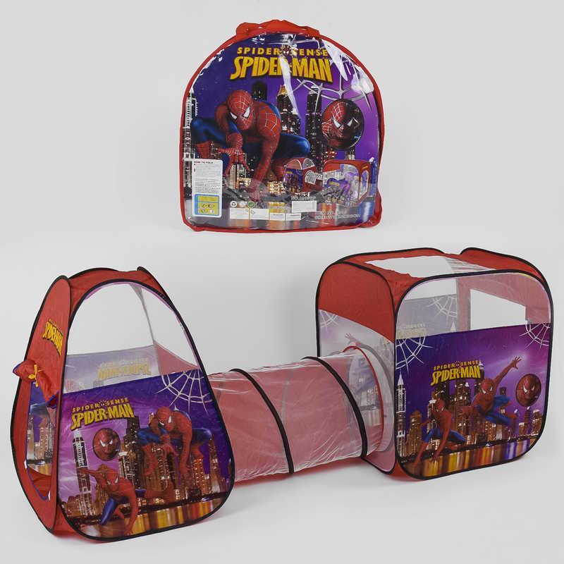Детская палатка с тунелем Spider Man