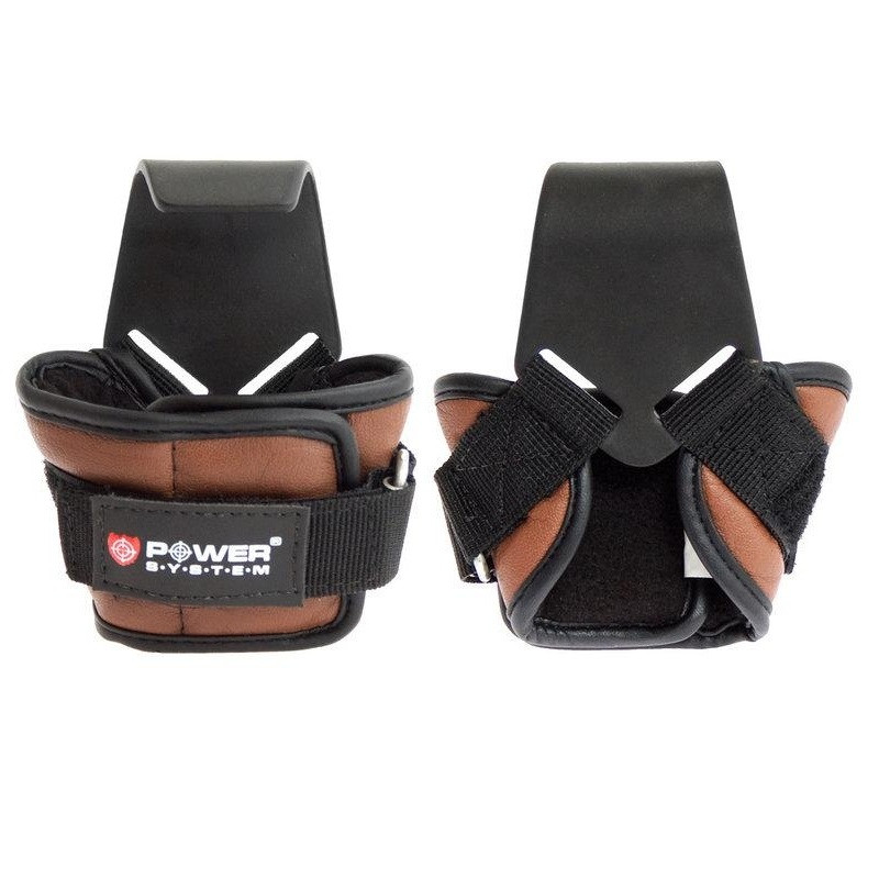 Крюки для тяги на запястья Hooks PS-3300 Brown L SKL24-145346