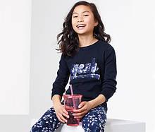 Красивый детский свитер, кофта с пайетками-перевертышами от тсм Tchibo (чибо), Германия, 146-152 см