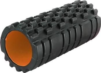 Роллер масажный Fitness Foam Roller PS-4050 Black-Orange SKL24-145578