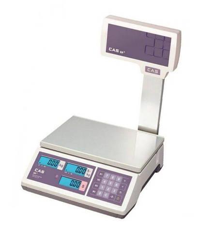Весы торговые CAS-ER-JR-CBU RS232 (30 кг), фото 2