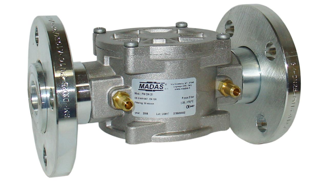 Фильтр газовый FM, DN25, P=6 bar, (Madas) фланцевый