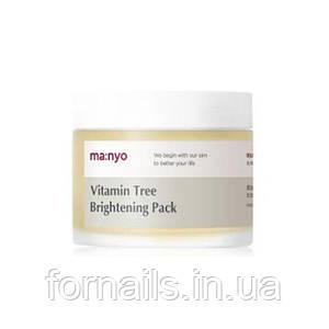 Ночная осветляющая маска с облепихой MANYO FACTORY Vitamin Tree Brightening Pack 75 мл