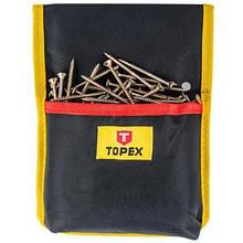 Сумка для инструмента Topex карман для інструменту і цвяхів (79R421)