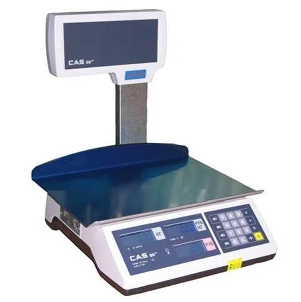 Весы торговые со стойкой CAS-ER-JR-CBU LT (15 кг)