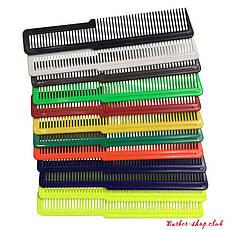 Набор плоских цветных расчесок Wahl 3206-200 Colored Flat Top, 12 шт.