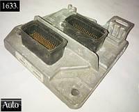 Электронный блок управления (ЭБУ) Opel Astra H Zafira B 1.6 16V 02-06г (Z16XEP / Z16XE1)