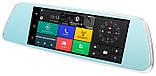 "Зеркало видеорегистратор, Экран 7"", GPS, SIM, 2 камеры, Android, K36(D36), фото 4"