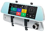 "Зеркало видеорегистратор, Экран 7"", GPS, SIM, 2 камеры, Android, K36(D36), фото 5"