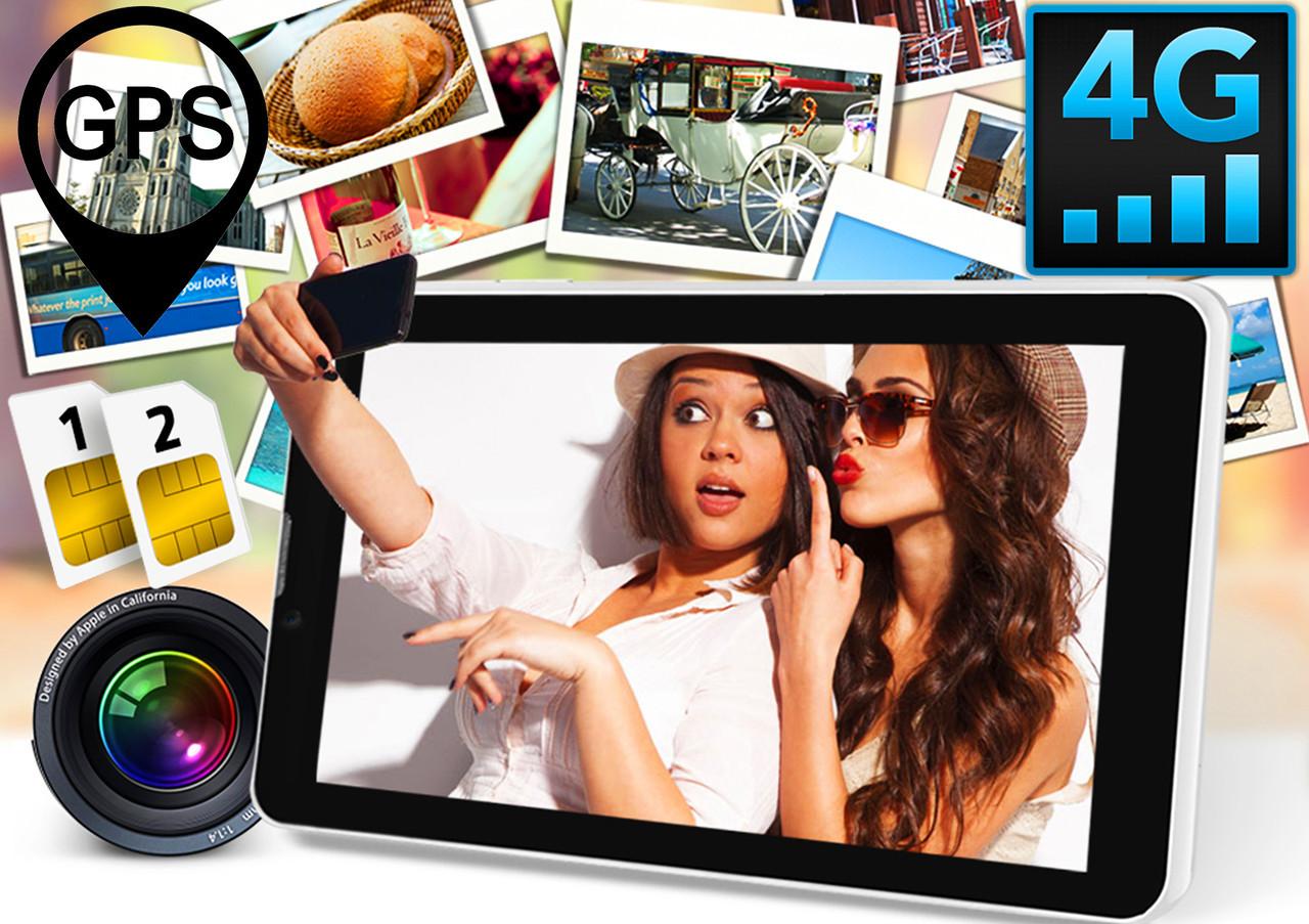 Планшет телефон 4G Samsung. 2SIM, GPS, LTE, 3G