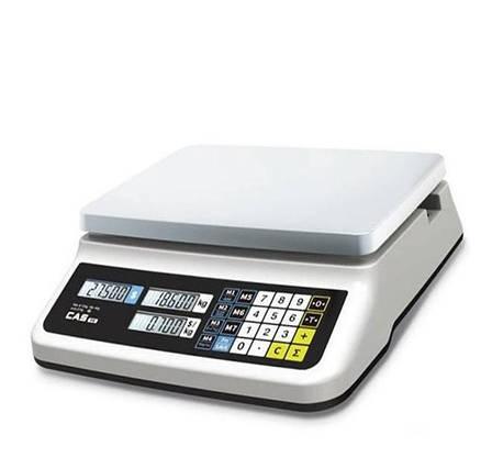 Весы торговые CAS PR-15 II B без стойки (30 кг), фото 2