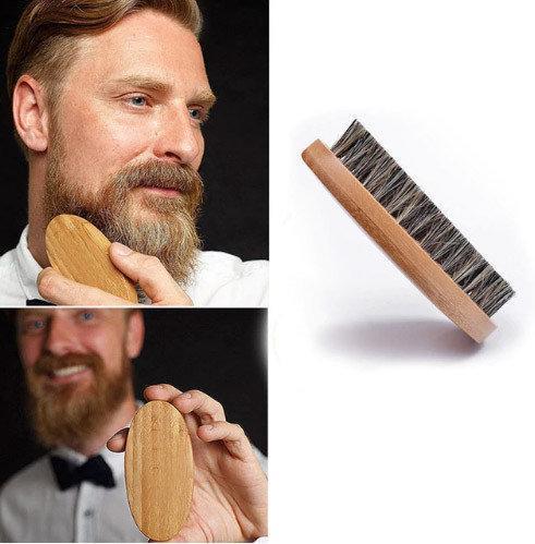 Щетка для бороды натуральная