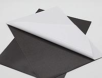 Магнитный винил с клеем в листах. Размер А4 Толщина 0.7 мм.  Магніт заготовка