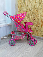 Коляска для кукол Melogo 9304BW