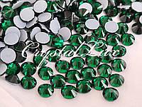 Термо стразы Lux ss16 Emerald (4.0mm) 100шт, фото 1