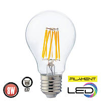 Светодиодная филаментная лампа FILAMENT GLOBE 8W 2700K HOROZ