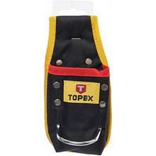 Сумка для инструмента Topex карман для інструменту з петлею для молотка (79R420)
