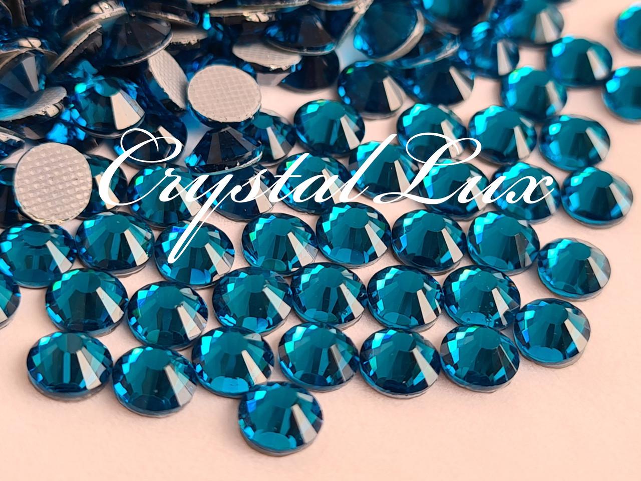 Термо стразы Lux ss16 Blue Zircon (4.0mm) 1440шт
