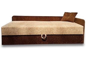 Диван Тахта Ліжко Альфа (Томас персик коричневий), фото 2