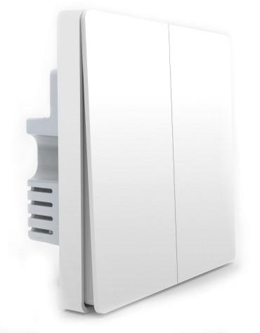 Розумний перемикач Aqara Smart Light Switch ZigBee Version (2 кнопки)