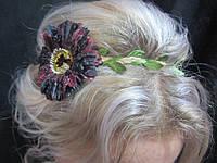 Греческая повязка с цветком на голову (25/20) (цена за 1шт. +5 грн)