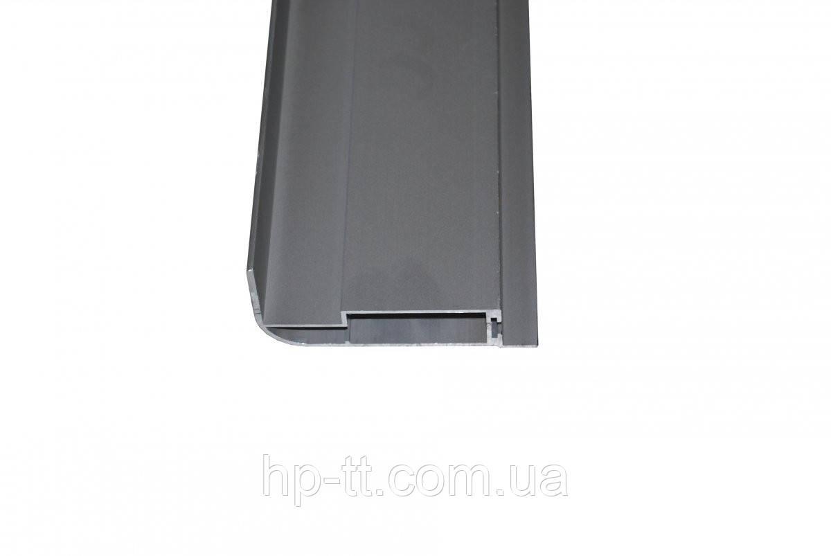 Алюминиевый профиль для крышки 100 x 2500мм