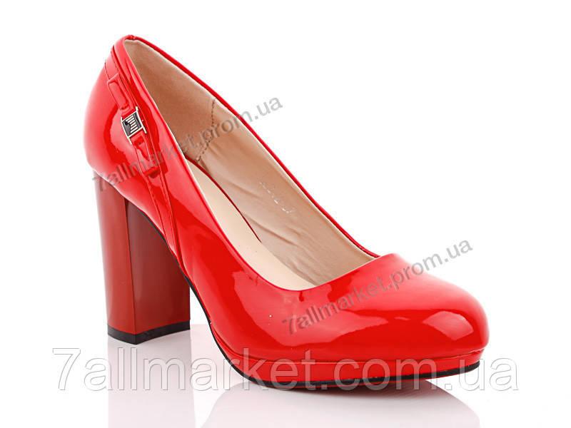 """Туфли женские стильные Весна/осень GL242-1t (6 пар р.36-41) """"Gallop Lin"""" недорого оптом от прямого поставщика"""