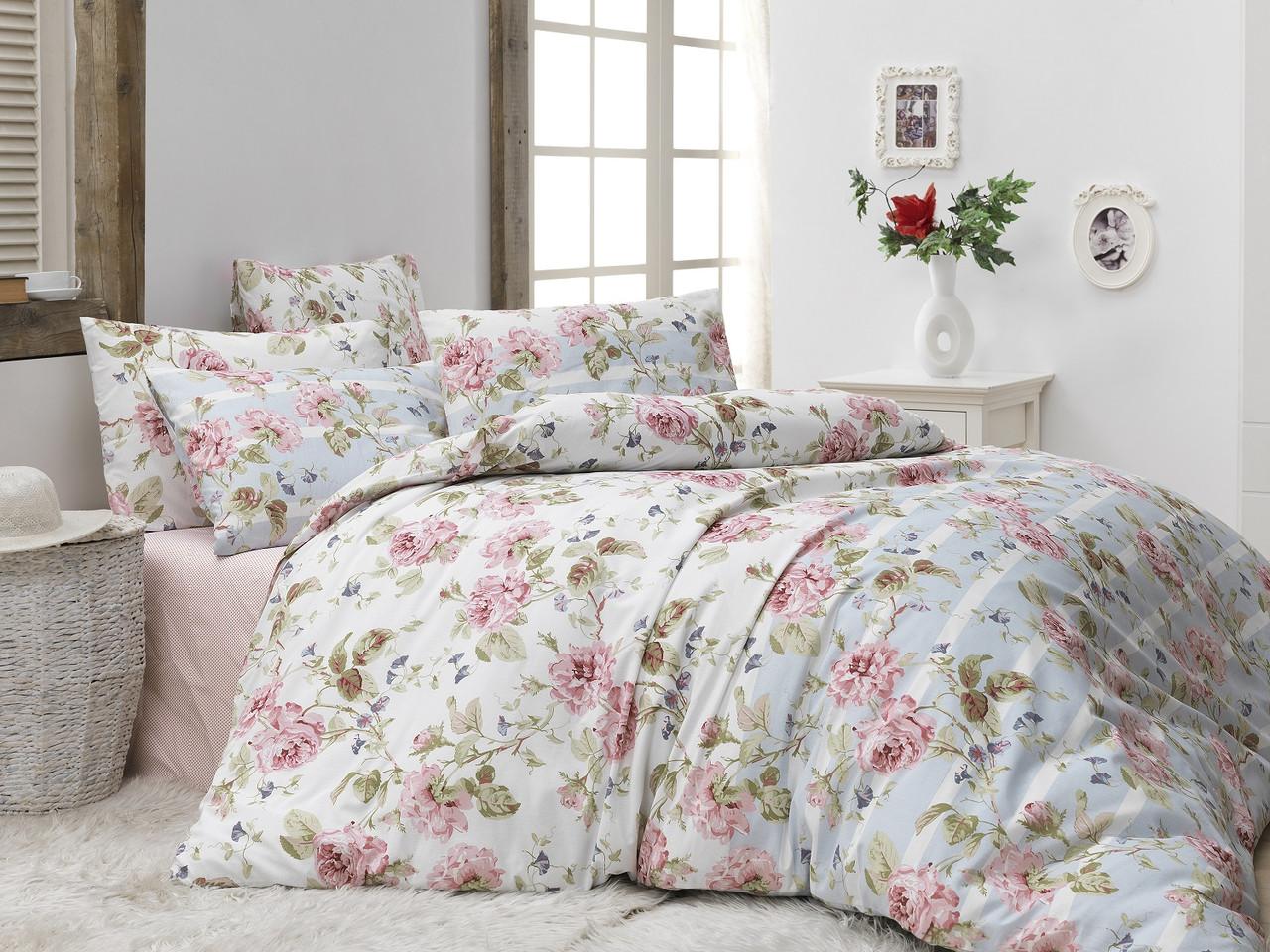 Двуспальный комплект постельного белья Бязь голд GARDEN 200*220 см. (13036_2.0LH)