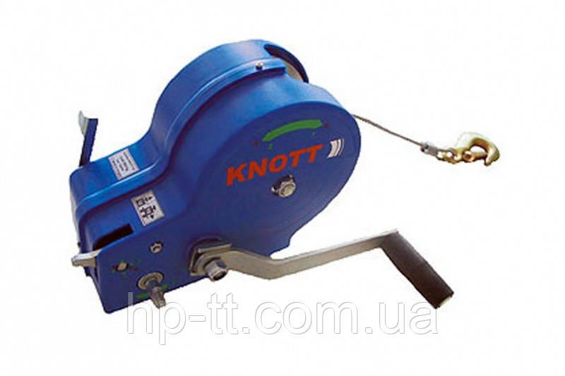Лебедка Knott AutoFlex с тросом 10,8м 1150 кг 6X0017.209