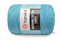 YarnArt Macrame Cotton Lurex, Бирюза №733