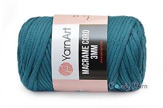 YarnArt Macrame Cord 3mm, Морская волна №789