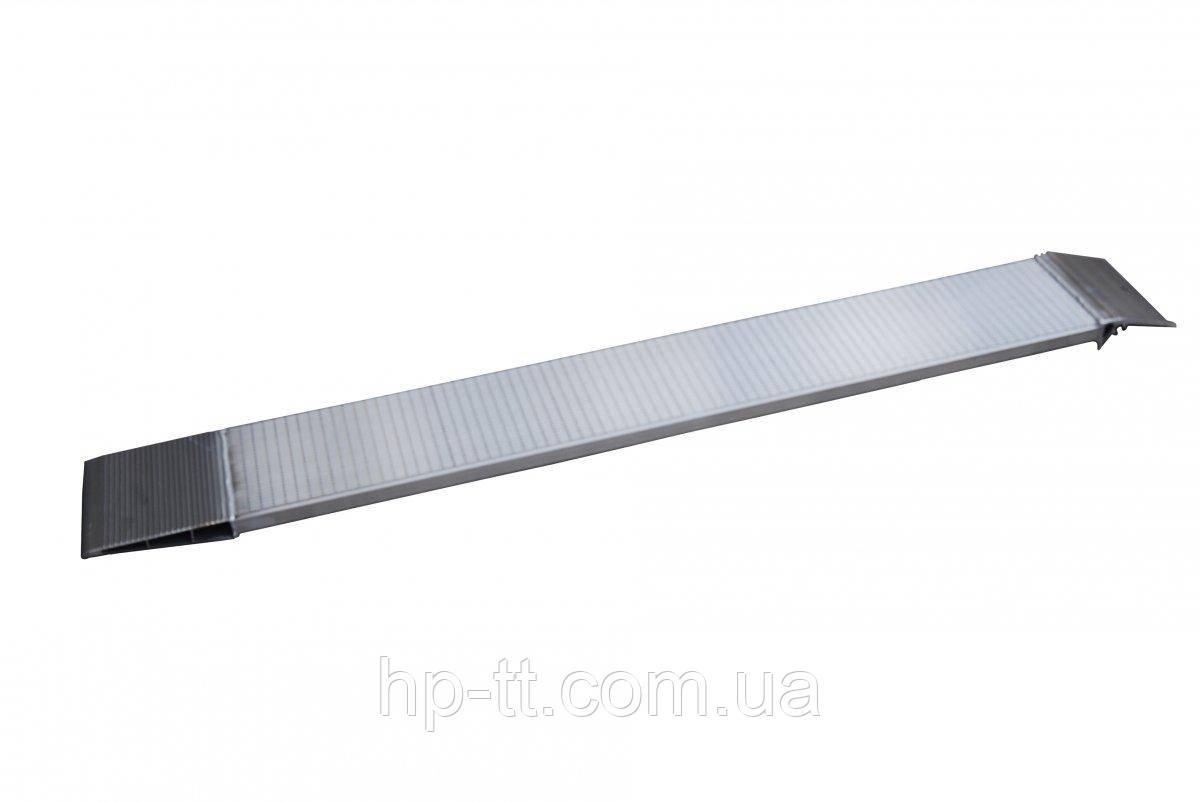 Рампа алюминиевая 250кг с опорами 220 x 1850мм