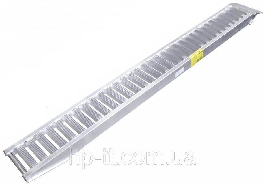 Рампа алюминиевая 750кг с опорами 220 x 2500мм