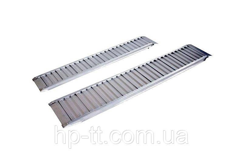 Рампа алюминиевая прямая Profi 2370x300мм, 1165 кг