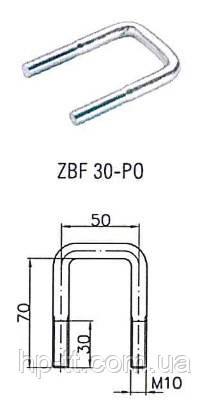 Стрем'янка U-подібна Winterhoff ZBF 30-PO
